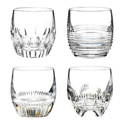 Mixology Set of 4 tumblers, clear