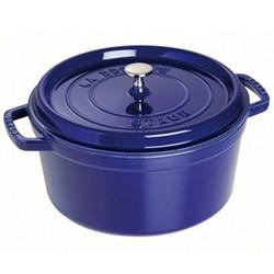 Round cocotte, 28cm, dark blue