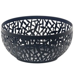 Cactus! by Marta Sansoni Basket/bowl, 21cm, black