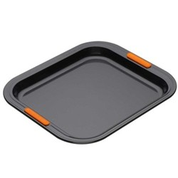 Bakeware Rectangular oven tray, 31 x 28cm, black