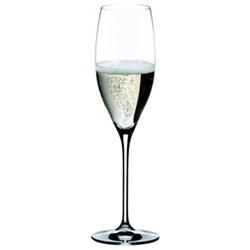 Vinum Pair of cuvee prestige Champagne flutes, H21.8 x D6.2cm - 23cl
