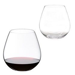 O Pair of pinot tumblers, H11 x D10.8cm - 69cl