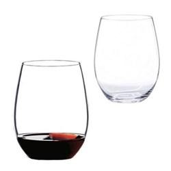 O Pair of cabernet/merlot glasses, H12.1 x D9.5cm - 60cl