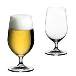 Ouverture Pair of beer glasses, H17 x D8.6cm - 50cl