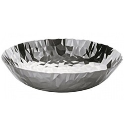 Joy N.1 by Claudia Raimondo Centrepiece bowl, 37 x 10.4cm, stainless steel
