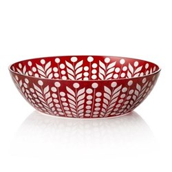 Pariz Trinket bowl, 12cm, red