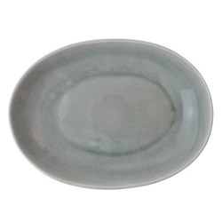 Maguelone Oval dish, 28 x 21.5cm, cachemire