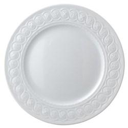 Louvre Set of 6 dinner plates, 26cm, white