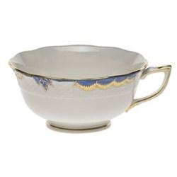 Princess Victoria Teacup, 30cl, blue