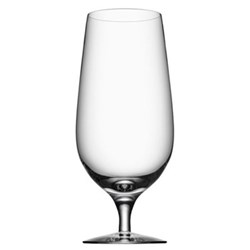 Erik Lagerbielke Set of 4 beer glasses, 60cl, clear