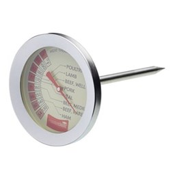 Meat thermometer, 7.5cm, stainless steel