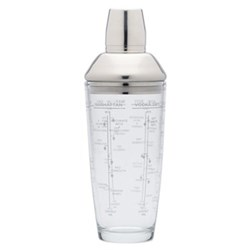 Boston cocktail shaker, 700ml, glass