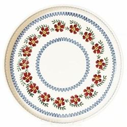 Old Rose Large quiche dish, D28 x H4cm
