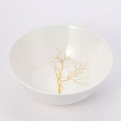 Golden Forest - Classic Salad bowl, 21cm, fine bone china