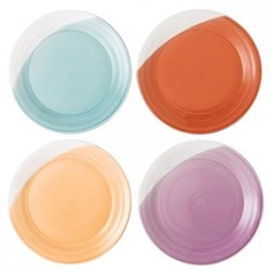 1815 Brights Set of 4 plates, 28cm, mixed colours