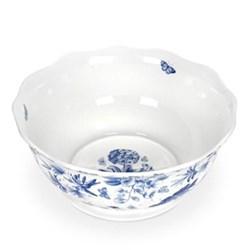 Botanic Blue Salad bowl, 28.5cm