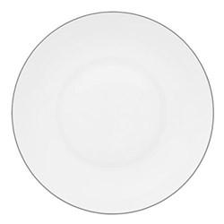 Monceau Couleurs Rim soup plate, 22cm, pearl grey