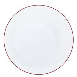 Monceau Couleurs Bread and butter plate, 16cm, vermilion red