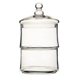 Appetiser Two tier storage jar, 16 x 30cm, glass