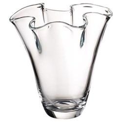 Signature Blossom Vase, 25cm, clear
