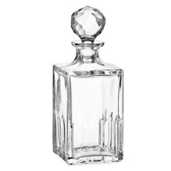 Austin Whisky decanter, H23cm - 80cl, clear