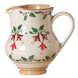 Fuchsia Medium jug, H16cm