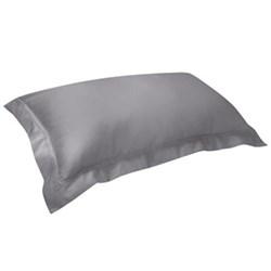 Triomphe Pillowcase, 50 x 90cm, platinum