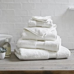 Egyptian Cotton Bath towel, 70 x 125cm, white