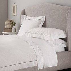 Santorini - 200 Thread Count Cotton King duvet cover, W225 x L220cm, white