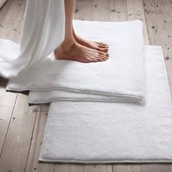 Ile de Re Bath mat, 50 x 80cm, white