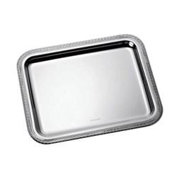 Malmaison Rectangular tray, 20 x 16cm, Christofle silver