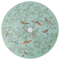 Paradis Dessert plate No.1, 22cm, turquoise
