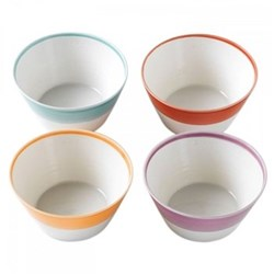 1815 Brights Set of 4 cereal bowls, 15cm, mixed colours