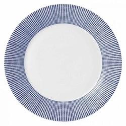 Pacific - Dots Dessert plate, 23cm, blue