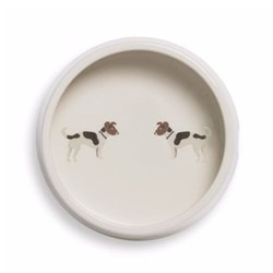 Mans's Best Friend Dog bowl, D18 x H6cm, Jack Russell