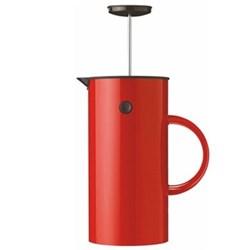 EM by Erik Magnussen French press coffee maker, H21cm - 1 litre, red