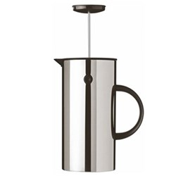 EM by Erik Magnussen French press coffee maker, H21cm - 1 litre, stainless steel