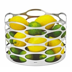 Embrace Fruit bowl, D23 x H17cm, stainless steel