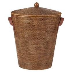 Levant Laundry basket, H55 x D45cm, rattan