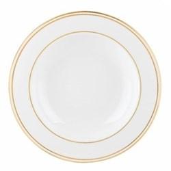 Federal Gold Rim soup bowl