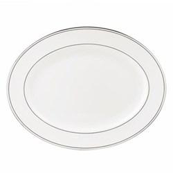 Federal Platinum Oval platter, 33cm