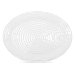 Ceramics Large platter, 51cm, white