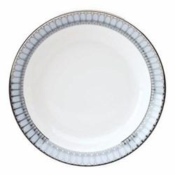 Arcades Cereal bowl, 19cm, grey and platinum