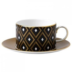 Arris Teacup and saucer - Geometric