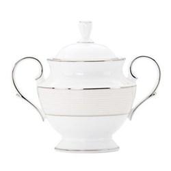 Opal Innocence Stripe Sugar bowl, 13cm