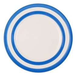 Set of 4 dinner plates, 28cm, blue