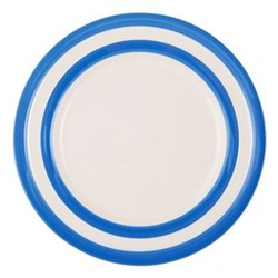 Set of 4 lunch plates, 25.4cm, blue