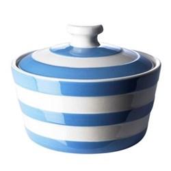 Butter dish, 14cm, blue