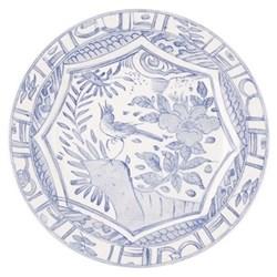 Oiseau Bleu Mono Dinner plate, 27.5cm