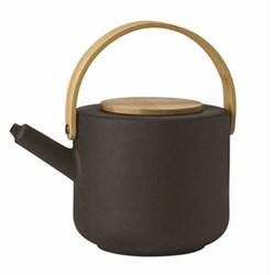 Theo by Francis Cayouette Teapot, H16cm - 1.25 litre, black